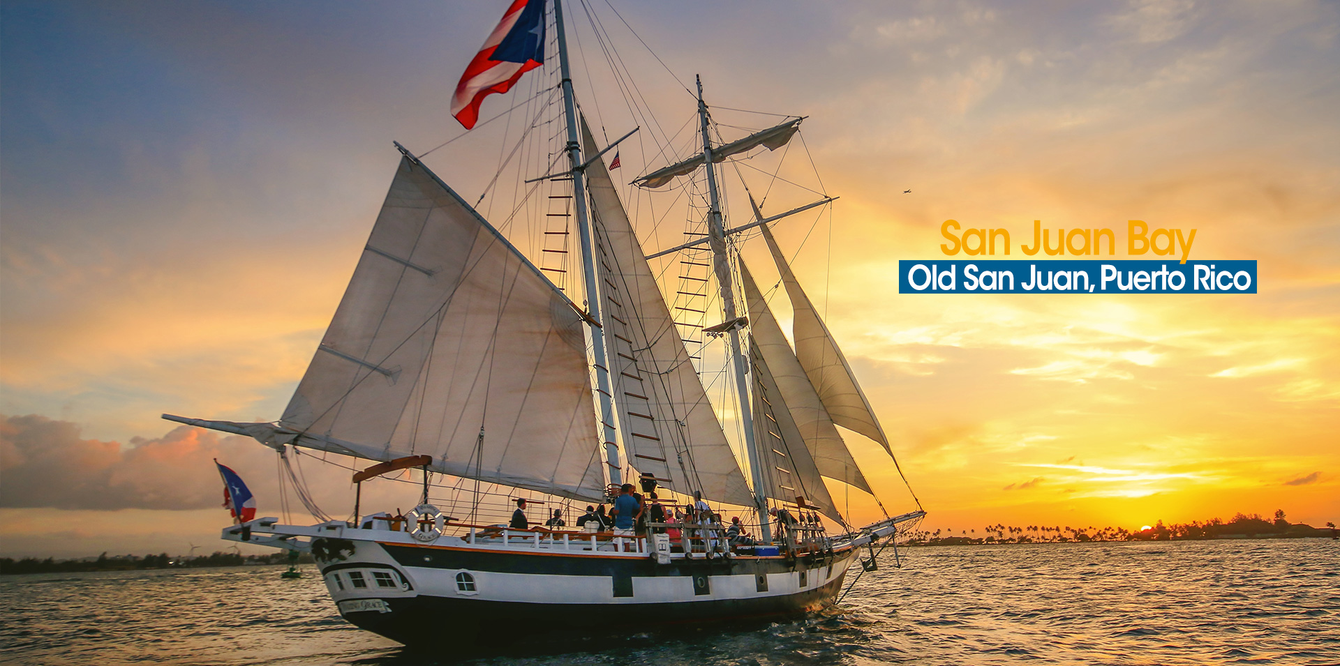 The Amazing Grace Old San Juan Harbor Tours, Daily Sailing and Sunset Tours